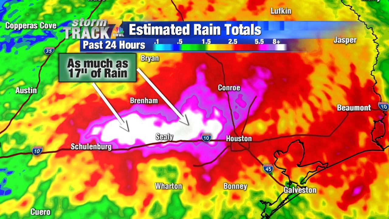 flom kart Flom kart Houston   Kart over Houston flom (Texas, USA)
